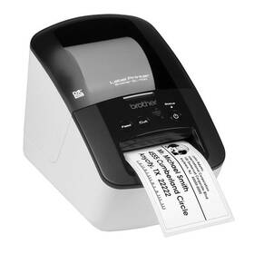 Tiskárna štítků Brother QL-700 (QL700) černá/bílá