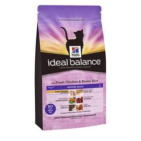 Hill's Ideal Balance Feline Mature Adult with Fresh Chicken & Brown Rice 2 kg