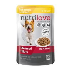 Nutrilove Dog pouch Chicken gravy 28 x 85g