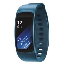 Samsung Gear Fit2 vel. L (SM-R3600ZBAXEZ) modrý + Doprava zdarma