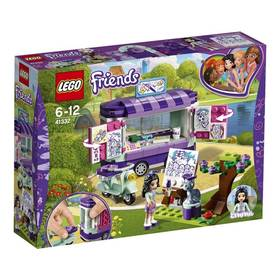 LEGO® FRIENDS® 41332 Emma a umělecký stojan