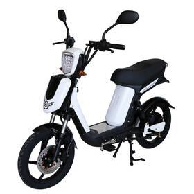 Elektrický motocykl RACCEWAY E-BABETA, bílý-matný