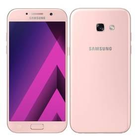 Samsung Galaxy A5 (2017) (SM-A520FZIAETL) růžový Software F-Secure SAFE 6 měsíců pro 3 zařízení (zdarma)Voucher na skin Skinzone pro Mobil CZPaměťová karta Samsung Micro SDHC EVO 32GB class 10 + adapter (zdarma) + Doprava zdarma
