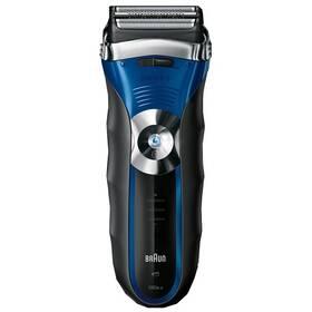 Braun Series 3-380 černý/modrý