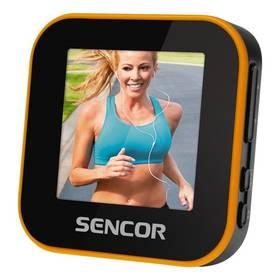 Sencor SFP 6070 SPORT CLIP (35047833) černý/oranžový