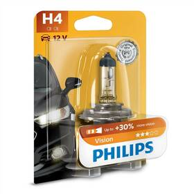 Philips Vision H4, 1ks (12342PRB1)