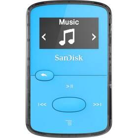 SanDisk Clip Jam 8GB (SDMX26-008G-E46B) modrý