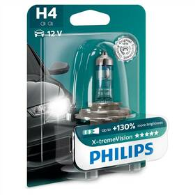 Philips X-tremeVision H4, 1ks (12342XV+B1)