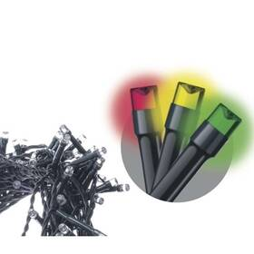 EMOS 40 LED řetěz, 4m, multicolor, časovač (1534081015)