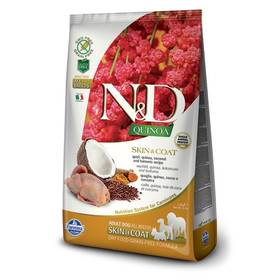 N&D Grain Free Quinoa DOG Skin&Coat Quail & Coconut 7 kg + Doprava zdarma