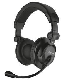 Headset Trust Como (21658) černý
