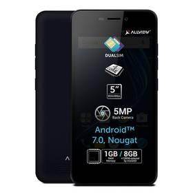 Allview A8 Lite Dual SIM modrý Software F-Secure SAFE, 3 zařízení / 6 měsíců (zdarma) + Doprava zdarma