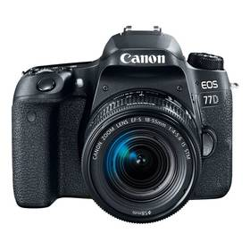 Canon EOS 77D + 18-135 IS USM Value Up Kit (1892C034) černý + Doprava zdarma