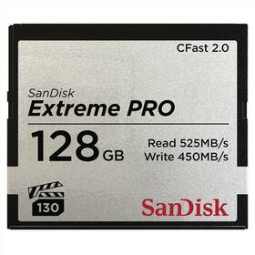 Sandisk Extreme Pro CFast 2.0 128 GB (525R/450W) (SDCFSP-128G-G46D)