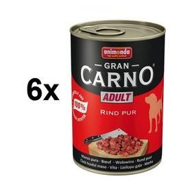 Animonda Adult Gran Carno hovězí maso 6 x 400g