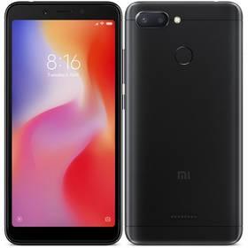 Xiaomi Redmi 6 Dual SIM 3GB/64GB (20869) černý SIM s kreditem T-Mobile 200Kč Twist Online Internet (zdarma)Software F-Secure SAFE, 3 zařízení / 6 měsíců (zdarma)