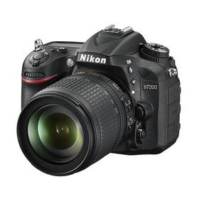 Nikon D7200 + 18-105 AF-S DX VR černý + K nákupu poukaz v hodnotě 1 000 Kč na další nákup + Doprava zdarma