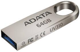 ADATA UV310 64GB (AUV310-64G-RGD) kovový