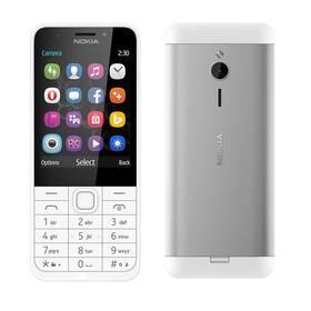Nokia 230 Single SIM (A00027220) bílý (vrácené zboží 8800659967)
