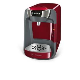 Bosch Tassimo TAS3203 červené Kapsle Jacobs Krönung Cappuccino Tassimo (zdarma) + Doprava zdarma