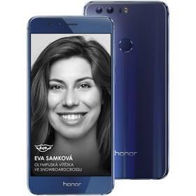Honor 8 Dual SIM modrý SIM s kreditem T-Mobile 200Kč Twist Online Internet (zdarma)Software F-Secure SAFE 6 měsíců pro 3 zařízení (zdarma) + Doprava zdarma