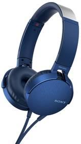 Sony MDR-XB550AP Extra Bass™ (MDRXB550APL.CE7) modrá + Doprava zdarma