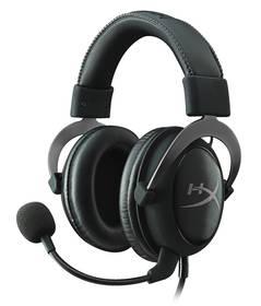 HyperX Cloud II (KHX-HSCP-GM) černý + Doprava zdarma