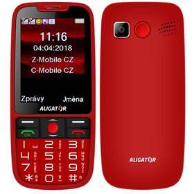 Aligator A890 Senior (A890RD) červený Software F-Secure SAFE, 3 zařízení / 6 měsíců (zdarma)