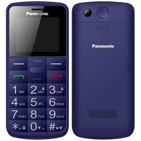 Panasonic KX-TU110EXC Dual SIM (KX-TU110EXC) modrý (vrácené zboží 8800793524)