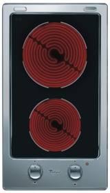 Whirlpool DOMINO AKT 315 IX černá/nerez/sklo + Doprava zdarma