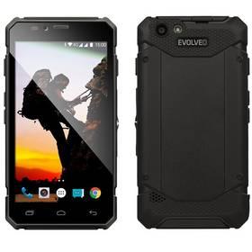 Evolveo StrongPhone Q6 LTE (SGP-Q6-LTE-B) černý SIM s kreditem T-mobile 200Kč Twist Online Internet (zdarma) + Doprava zdarma