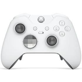 Microsoft Xbox One Wireless - speciální bílá edice Elite (HM3-00012)