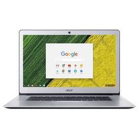 Acer Chromebook 15 (CB515-1HT-P235) (NX.GPTEC.003) stříbrný + Doprava zdarma