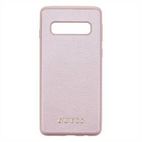 Guess Iridescent pro Samsung Galaxy S10 (GUHCS10IGLRG) růžový
