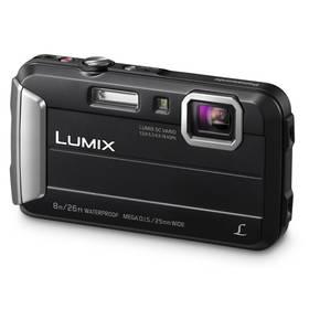 Panasonic Lumix DMC-FT30EP-K černý + Doprava zdarma