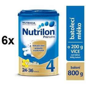 Nutrilon 4 Pronutra Vanilka, 800g x 6ks + Doprava zdarma