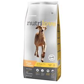 Nutrilove Dog dry Active fresh chicken 12kg