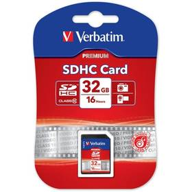 Verbatim SDHC 32GB Class 10 (43963) čierna