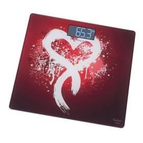 Osobná váha Gallet Coeur PEP 950 čierna/červená