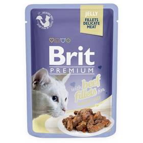 Brit Premium Cat D Fillets in Jelly with Beef 85 g