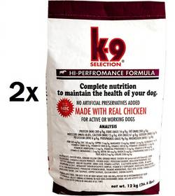 K-9 Hi-Performance Formula 2 x 20 kg + Doprava zdarma