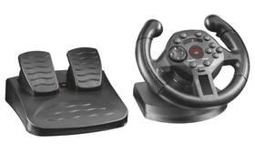 Trust Compact Racing Wheel / 2 pedály / 100° / feedback / 13 tlačítek / USB (428138)