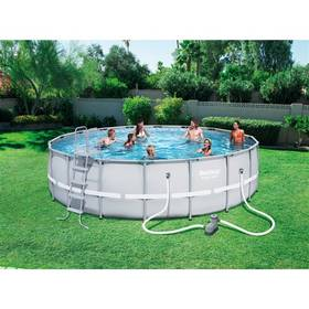 Bestway Steel Frame Pool 549 x 132 cm, 56427 + Doprava zdarma