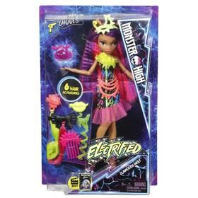 Panenka Mattel Monster High příšerka s monstrózními vlasy, assort dvou panenek