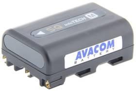 Avacom Sony NP-FM50, QM50 Li-ion 7,2V 1100mAh (VISO-QM50-750G) šedá