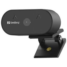Sandberg Webcam Wide Angle 1080p (134-10) čierna