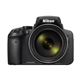 Nikon Coolpix P900 černý + K nákupu poukaz v hodnotě 1 000 Kč na další nákup + Doprava zdarma