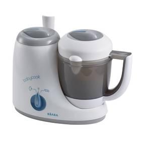Parný varič + mixér Beaba BABYCOOK sivý
