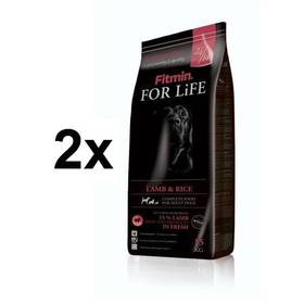 FITMIN dog For Life Lamb & Rice 2 x 15 kg + Doprava zdarma
