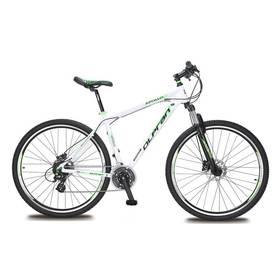 """Olpran APOLLO 13 29"""" bílé/zelené + Reflexní sada 2 SportTeam (pásek, přívěsek, samolepky) - zelené v hodnotě 58 Kč + Doprava zdarma"""